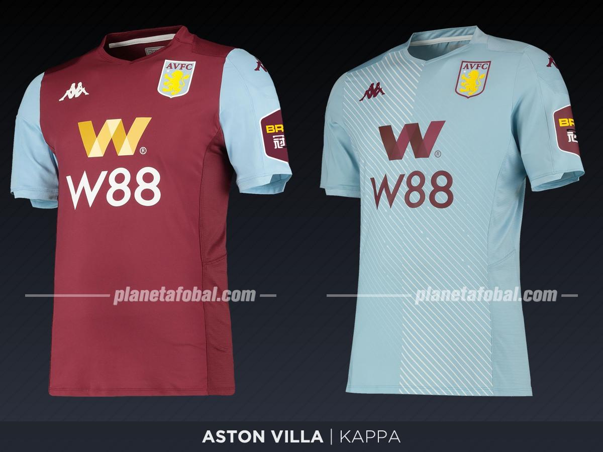 Aston Villa (Kappa)   Camisetas de la Premier League 2019-2020