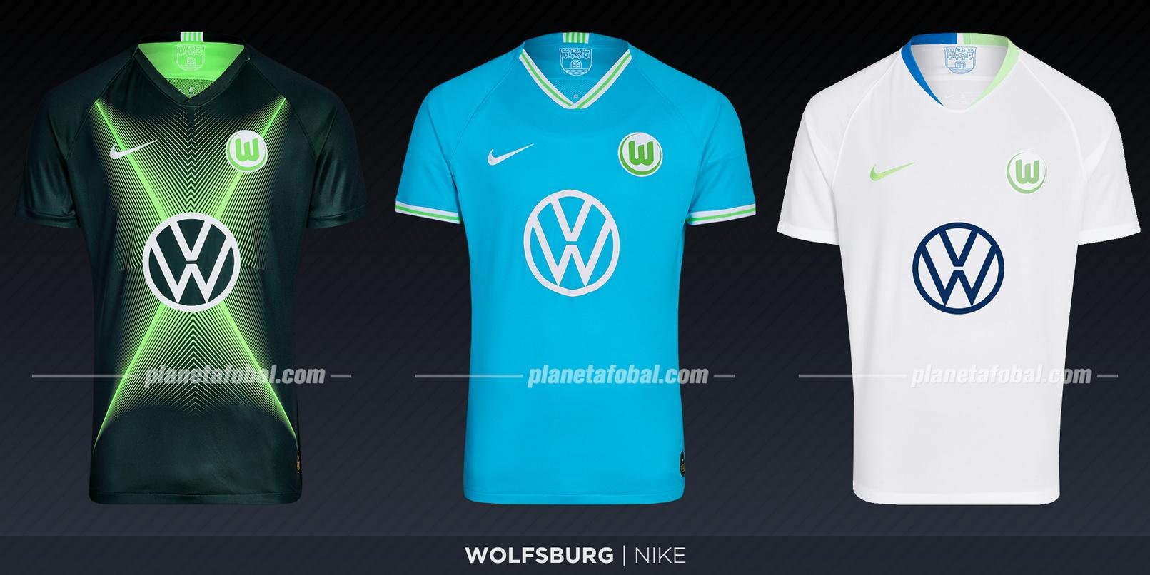 Wolfsburg (Nike) | Camisetas de la Bundesliga 2019-2020