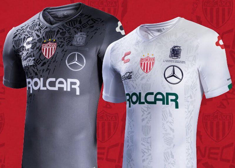 Camisetas del Club Necaxa 2019/2020   Imagen Charly