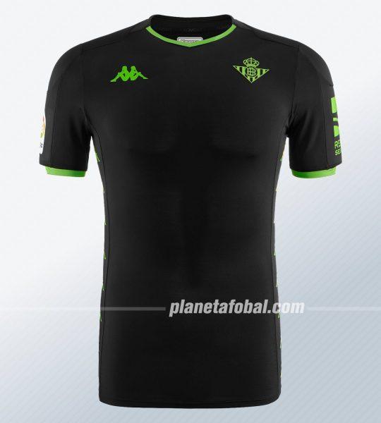 Camiseta suplente Kappa del Betis 2019/20 | Imagen Web Oficial