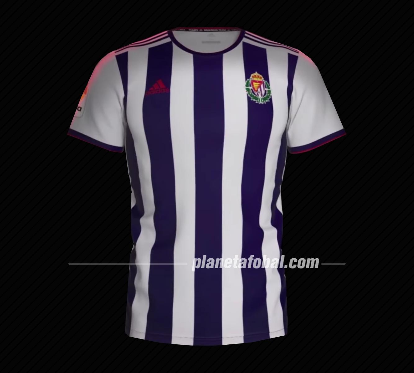 Primera equipación Adidas del Real Valladolid 2019/2020 | Captura