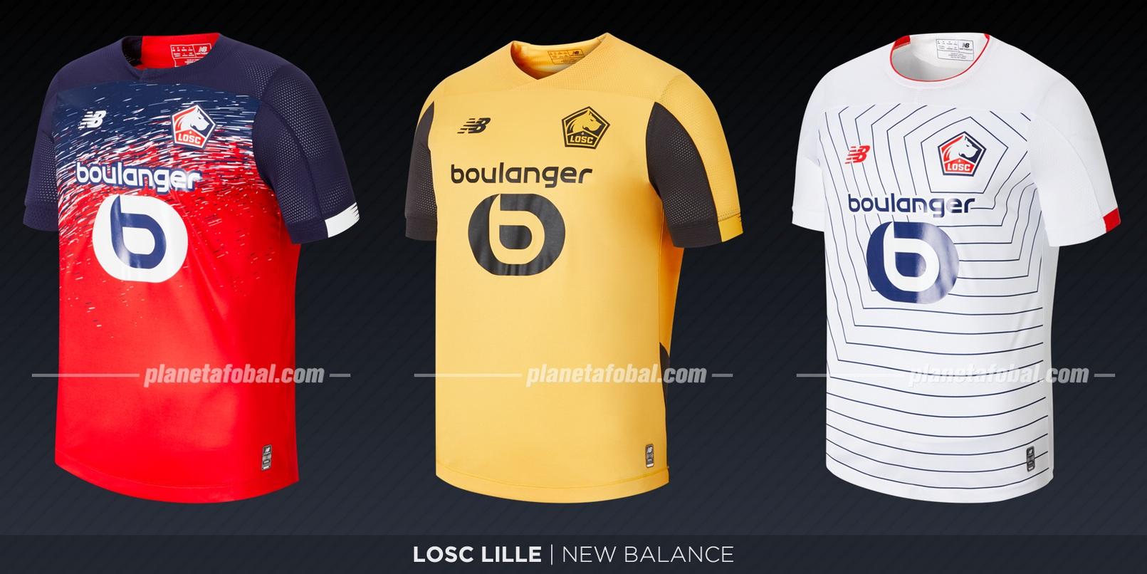 LOSC Lille (New Balance) | Camisetas de la Ligue 1 2019-2020