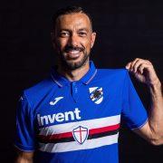Camiseta Joma de la Sampdoria 2019/20 | Imagen Twitter Oficial