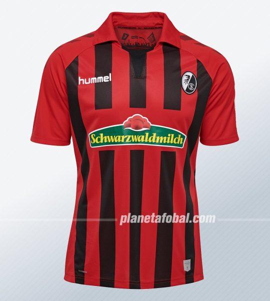 Camiseta titular Hummel del SC Freiburg 2019/20 | Imagen Web Oficial