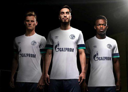 Camiseta suplente Umbro del Schalke 04 2019/20 | Imagen Web Oficial