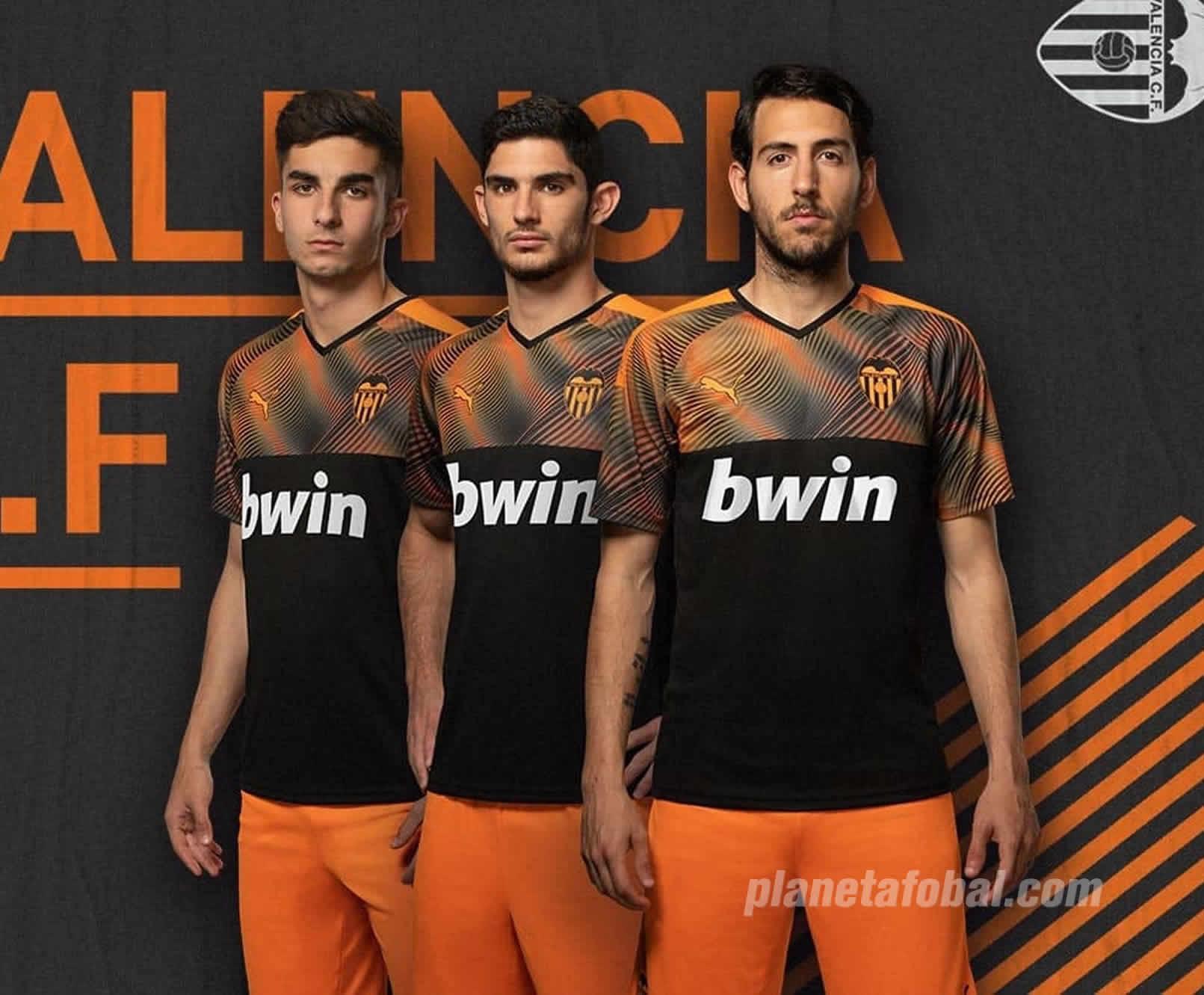 Segunda equipación Puma del Valencia 2019/2020 | Imagen Twitter Oficial