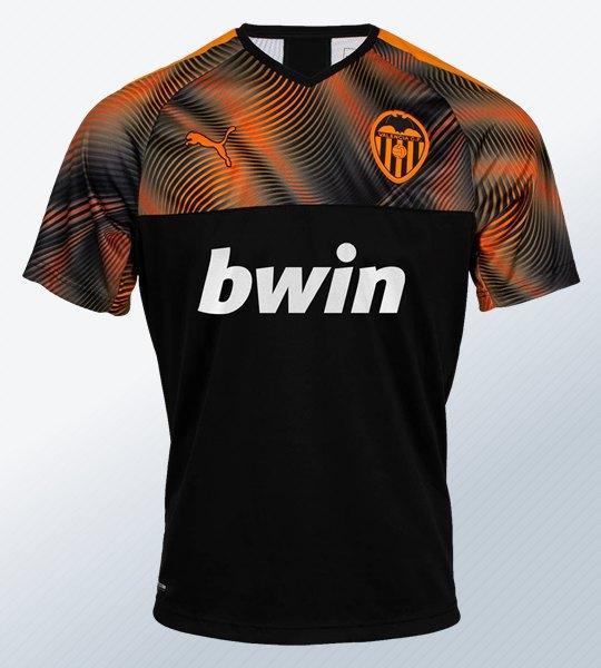 Segunda equipación Puma del Valencia 2019/2020 | Imagen Web Oficial