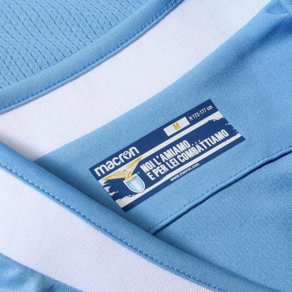 Camiseta titular Macron de la Lazio 2019/2020 | Imagen Web Oficial