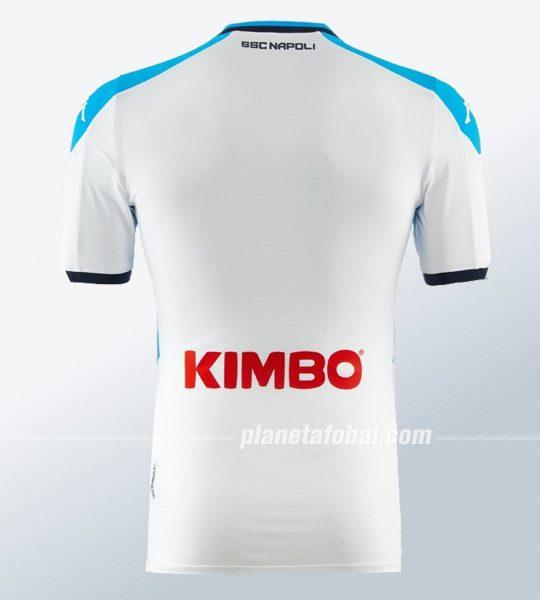 Tercera camiseta Kappa del Napoli 2019/2020 Imagen Web Oficial