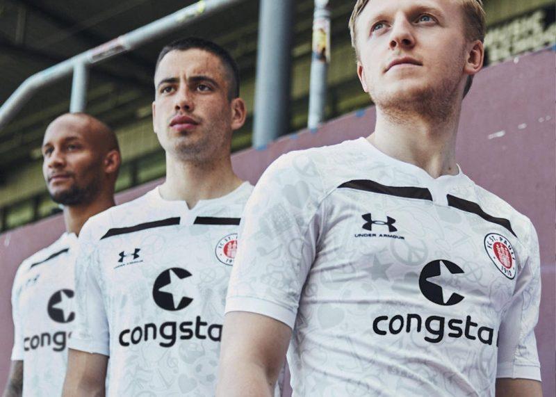 Camiseta suplente Under Armour del St. Pauli 2019/20 | Imagen Web Oficial