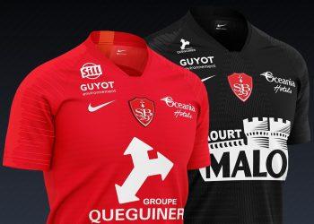 Camisetas Nike del Stade Brestois 2019/20 | Imagen Web Oficial