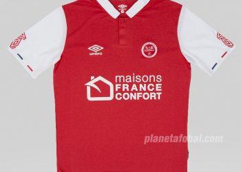 Camisetas Umbro del Stade de Reims 2019/20 | Imagen Web Oficial