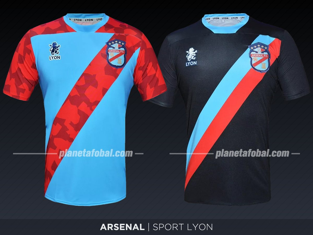 Arsenal (Sport Lyon) | Camisetas de la Superliga 2019