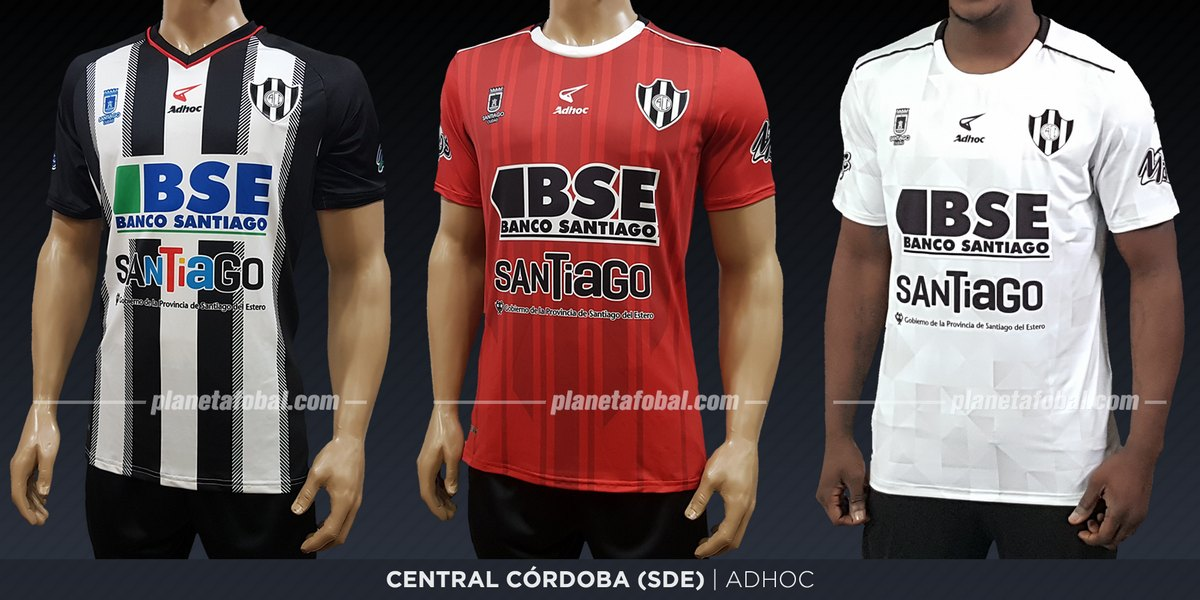 Central Córdoba (Adhoc) | Camisetas de la Superliga 2019