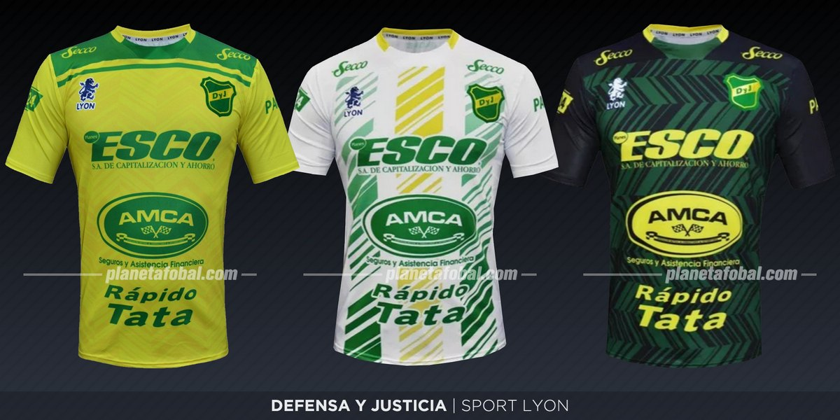 Defensa y Justicia (Sport Lyon) | Camisetas de la Superliga 2019