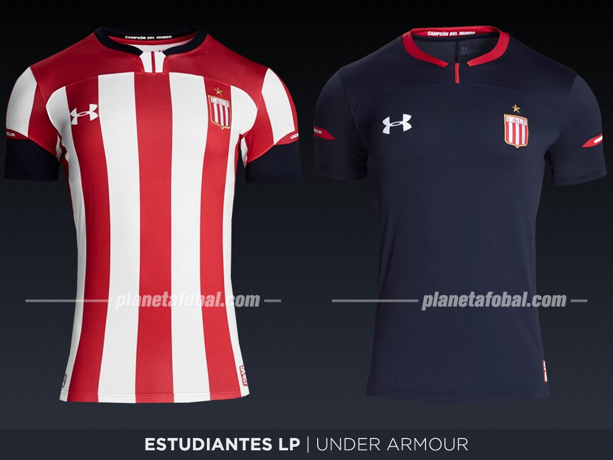 Estudiantes (Under Armour) | Camisetas de la Superliga 2019