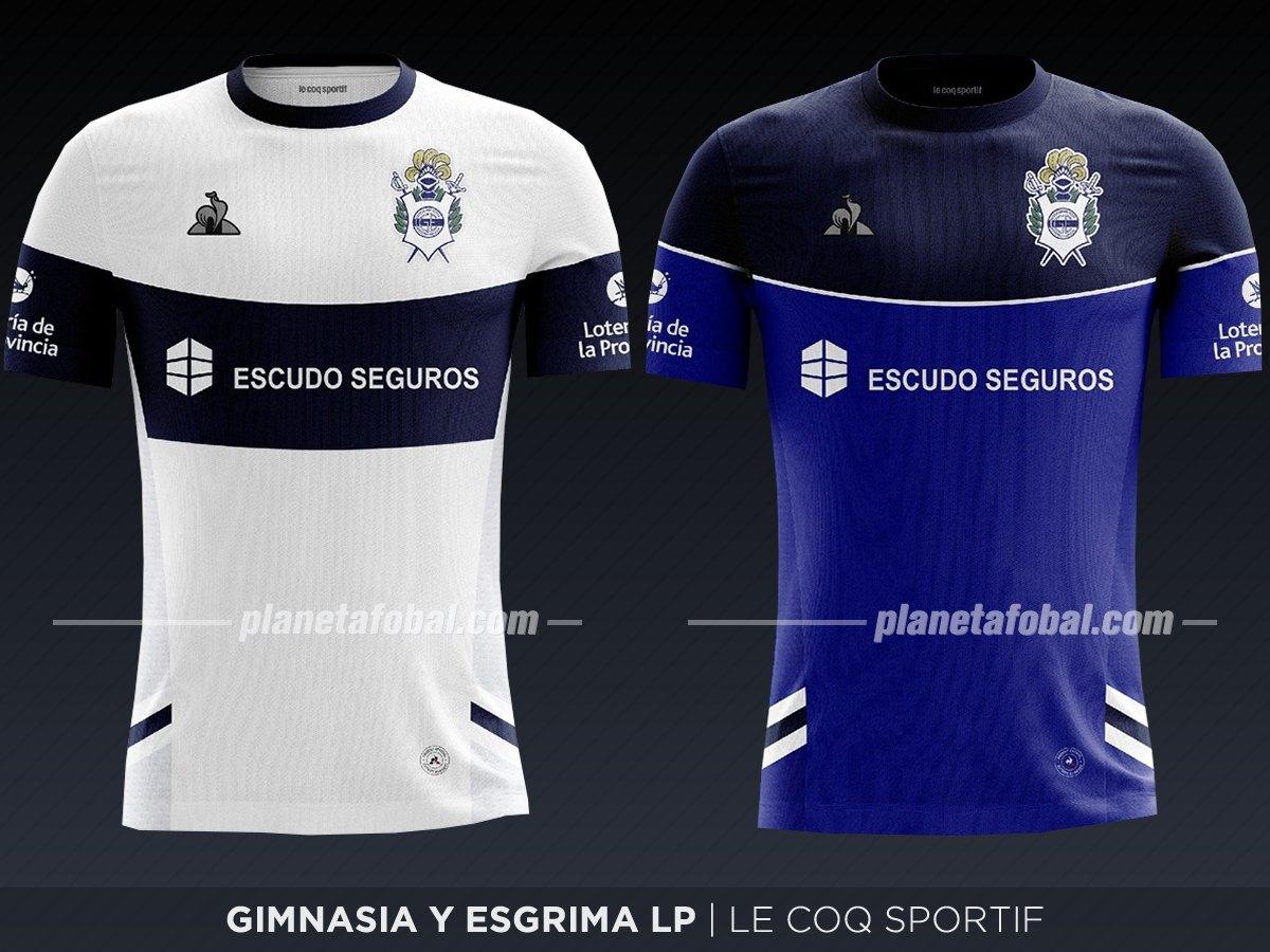Gimnasia LP (Le Coq Sportif) | Camisetas de la Superliga 2019/2020