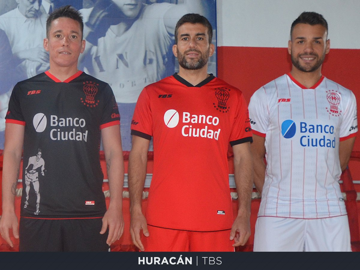 Huracán (TBS) | Camisetas de la Superliga 2019