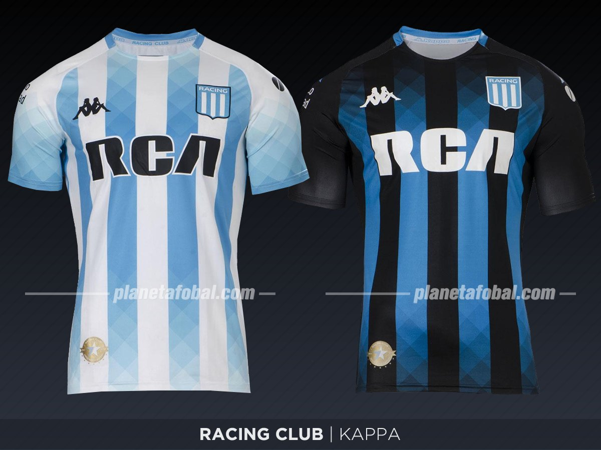 Racing Club (Kappa) | Camisetas de la Superliga 2019