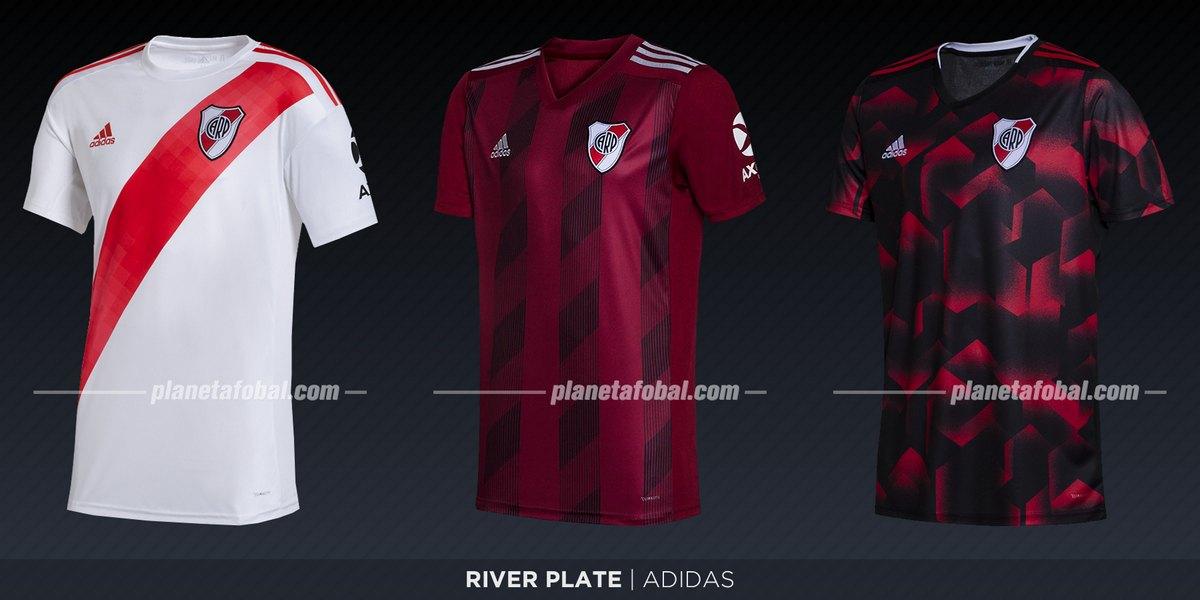 River Plate (Adidas) | Camisetas de la Superliga 2019/2020