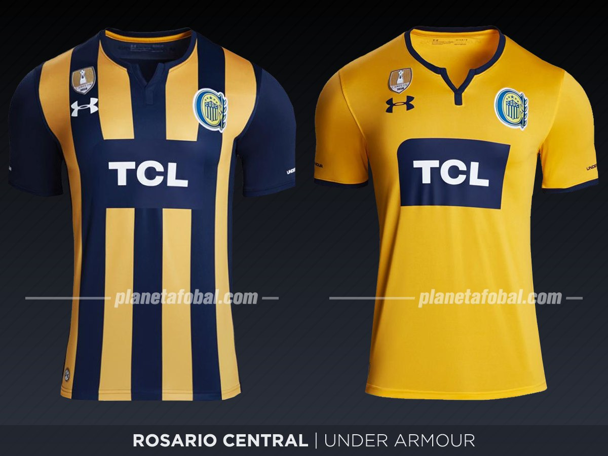 Rosario Central (Under Armour) | Camisetas de la Superliga 2019