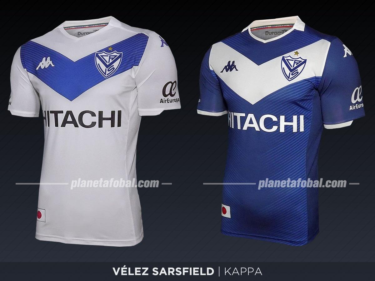 Vélez (Kappa) | Camisetas de la Superliga 2019/2020