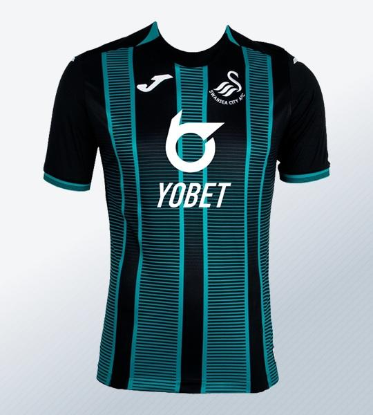 Camiseta suplente Joma del Swansea City 2019/20 | Imagen Web Oficial