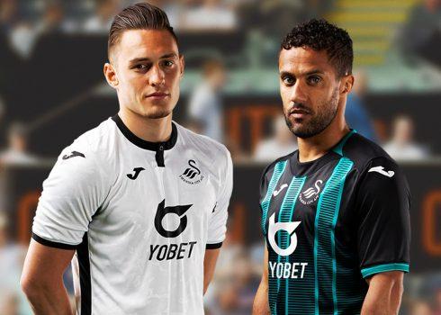 Camisetas Joma del Swansea City 2019/20 | Imagen Web Oficial