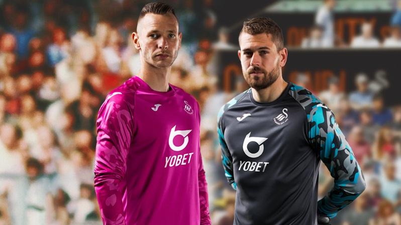 Camisetas Joma de arquero del Swansea City 2019/20 | Imagen Web Oficial