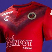 Camisetas de los Tiburones Rojos 2019/20   Imagen Charly Fútbol