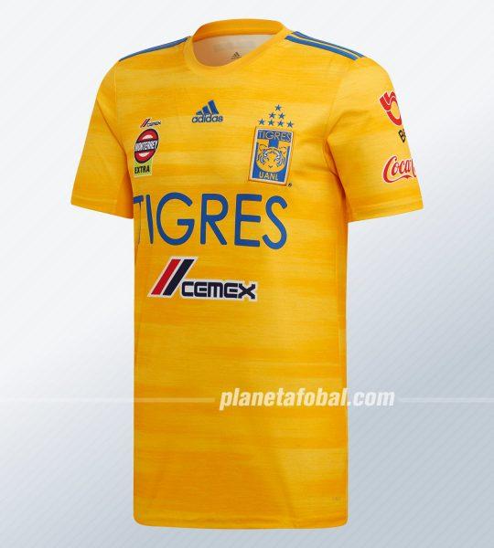 Camiseta local de los Tigres UANL 2019/20 | Imagen Adidas