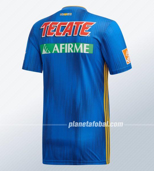 Camiseta visita de los Tigres UANL 2019/20 | Imagen Adidas