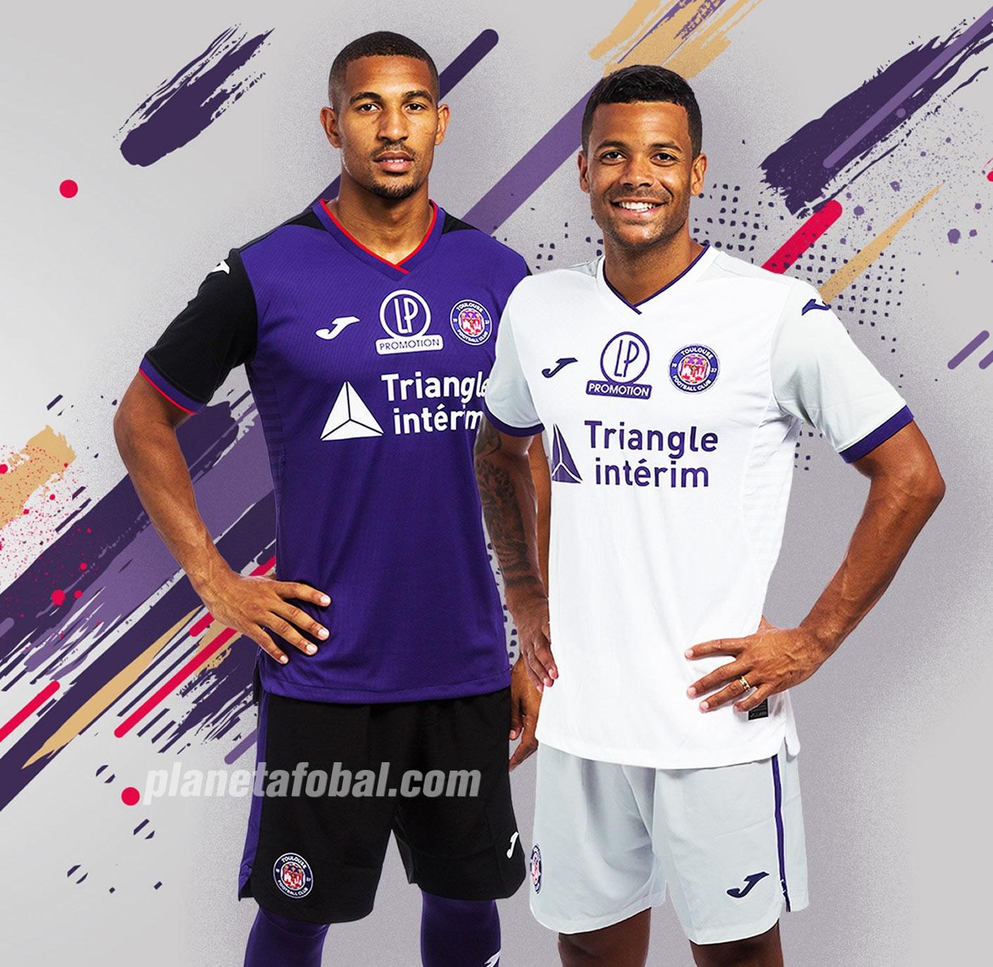 Camisetas Joma del Toulouse FC 2019/20 | Imagen Web Oficial