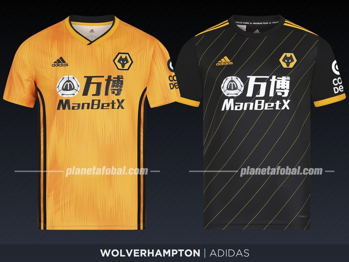 Wolverhamtpon (Adidas)   Camisetas de la Premier League 2019-2020