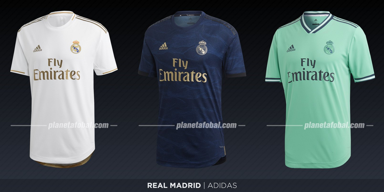 Real Madrid (Adidas) | Camisetas de LaLiga 2019-2020