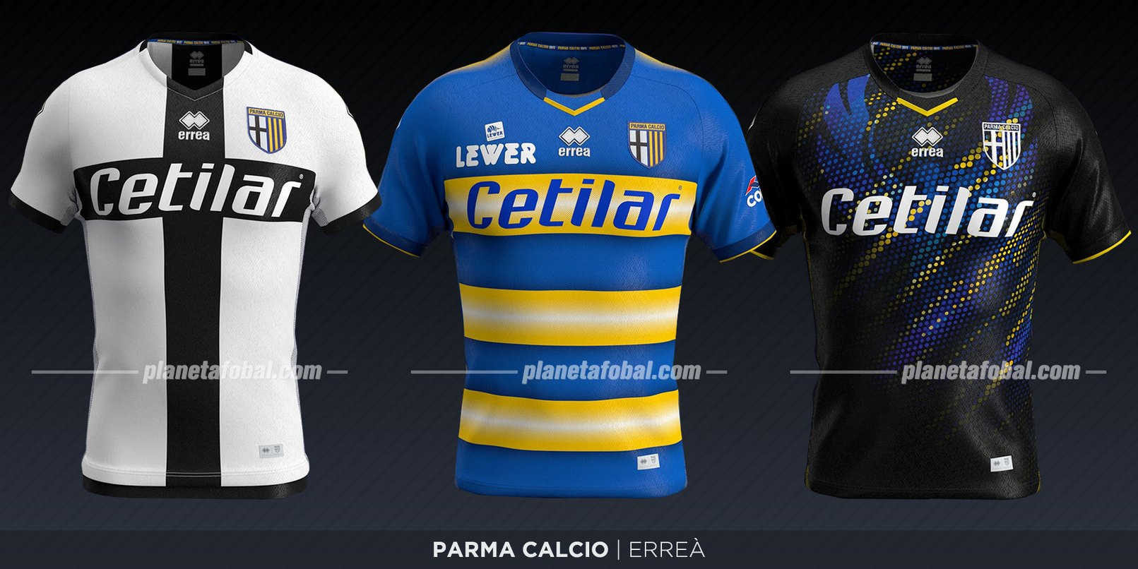 Parma Calcio (Erreà) | Camisetas de la Serie A 2019-2020