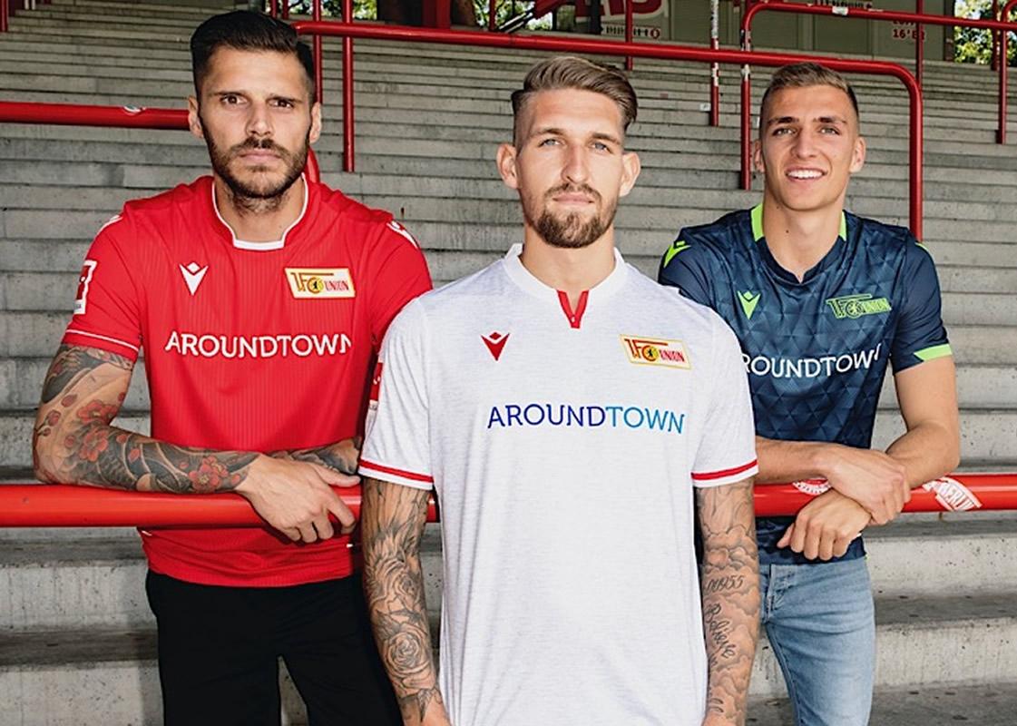 Camisetas Macron del FC Unión Berlín 2019/20 | Imagen Web Oficial