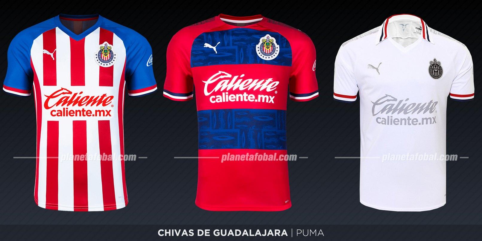 Chivas de Guadalajara (Puma) | Camisetas de la Liga MX 2019-2020