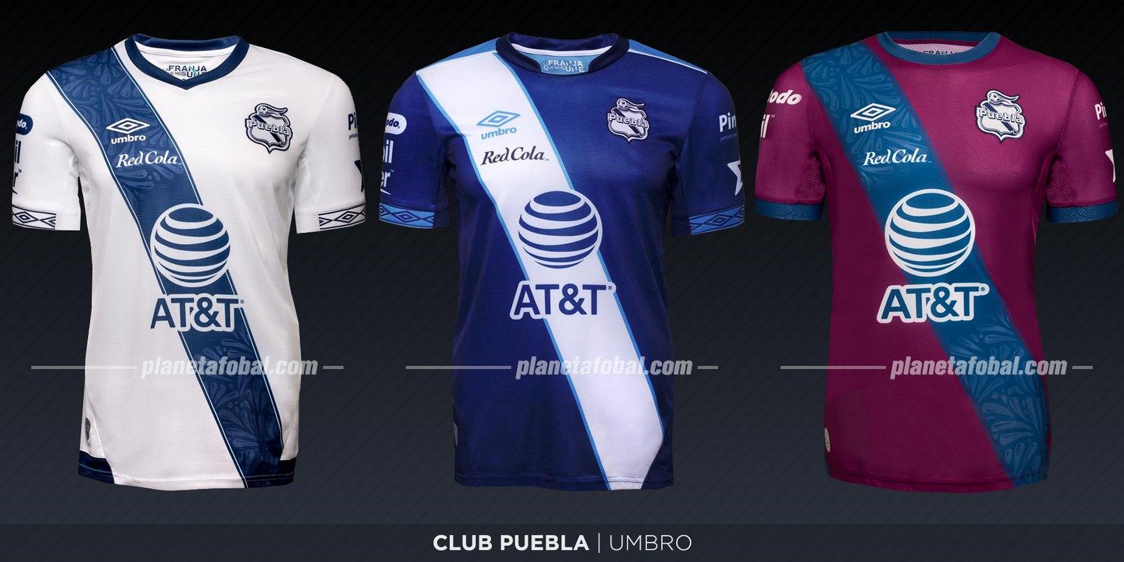 Club Puebla (Umbro) | Camisetas de la Liga MX 2019-2020