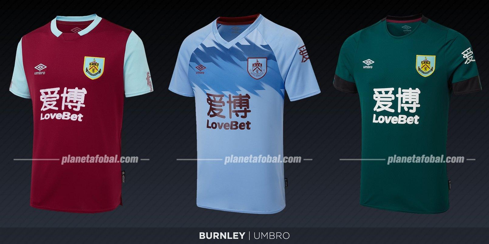 Burnley (Umbro) | Camisetas de la Premier League 2019-2020