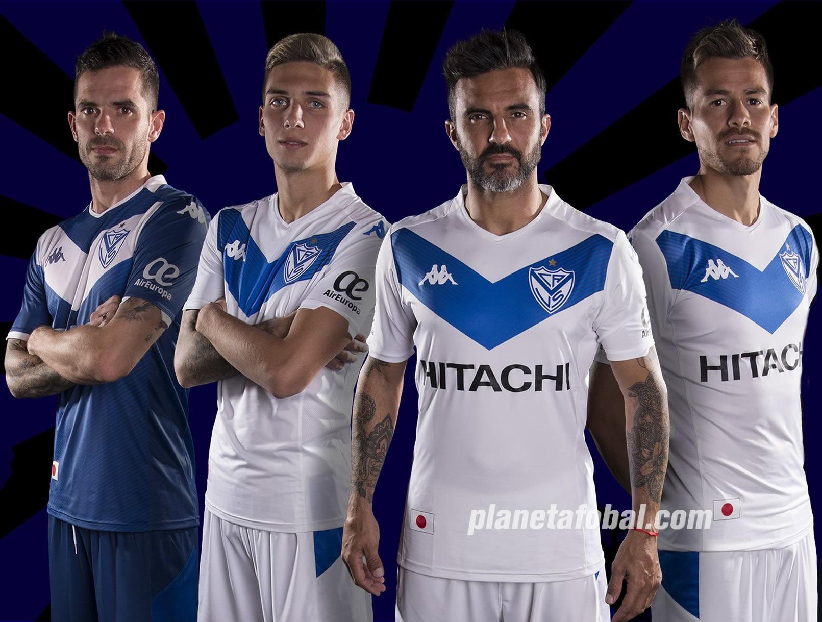 Camisetas Kappa de Vélez Sarsfield 2019/2020 | Imagen Twitter Oficial