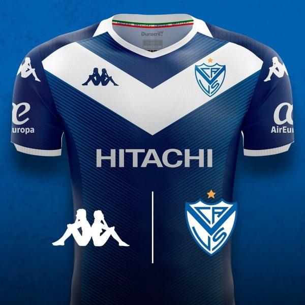 Camiseta alternativa de Vélez Sarsfield 2019/2020 | Imagen Kappa