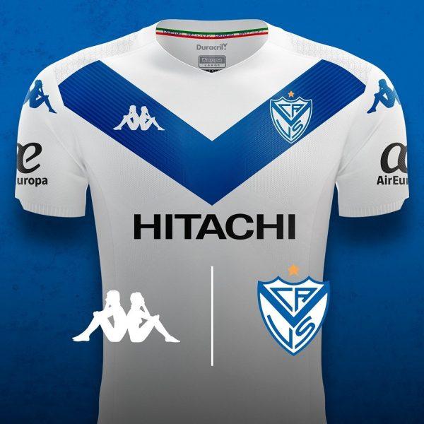 Camiseta titular de Vélez Sarsfield 2019/2020 | Imagen Kappa