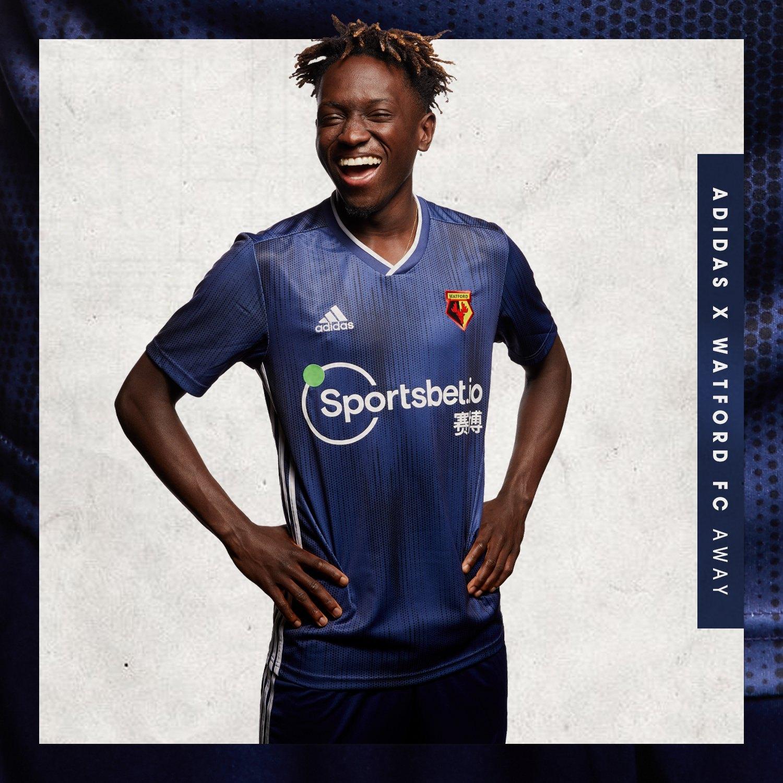 Camiseta suplente Adidas del Watford 2019/20 | Imagen Web Oficial