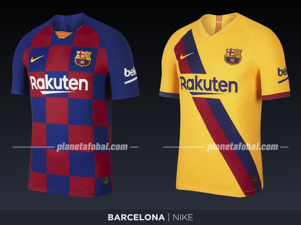 Barcelona (Nike) | Camisetas de LaLiga 2019-2020
