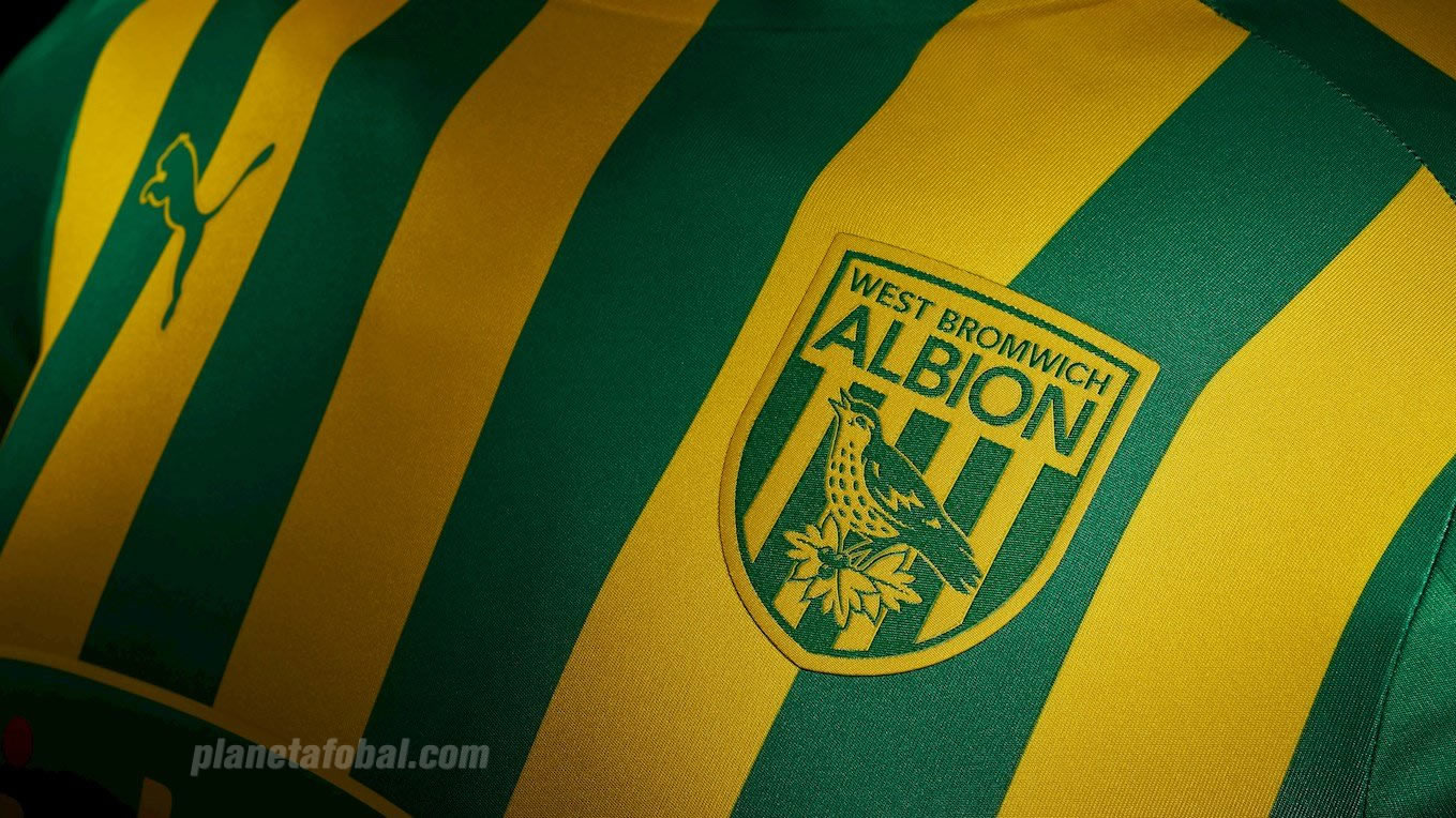 Camiseta suplente Puma del West Bromwich Albion 2019/20 | Imagen Web Oficial