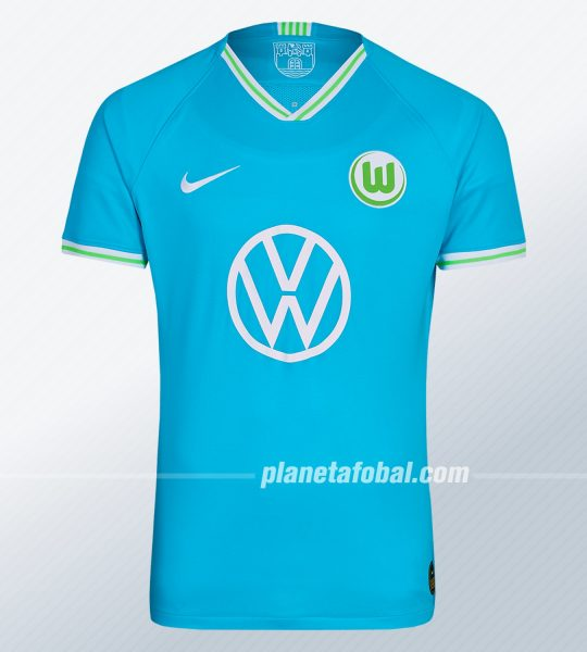 Camiseta suplente Nike del VfL Wolfsburg 2019/2020 | Imagen Web Oficial