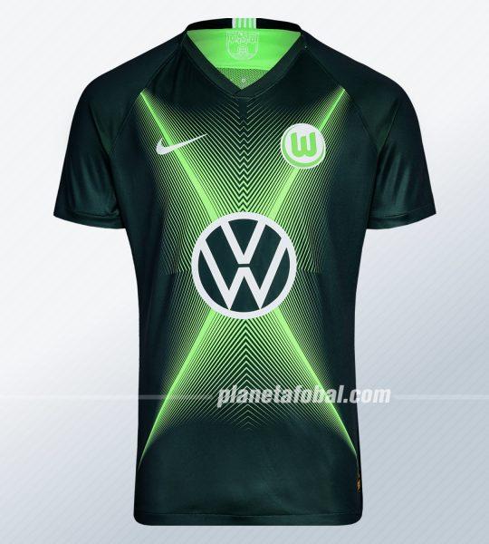 Camiseta titular Nike del VfL Wolfsburg 2019/2020 | Imagen Web Oficial
