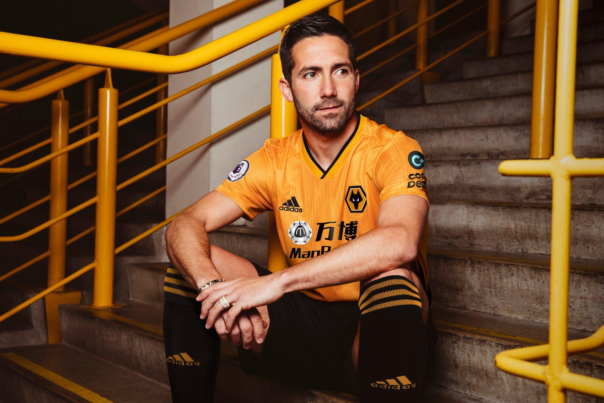 Camiseta titular Adidas del Wolverhampton 2019/20 | Imagen Web Oficial