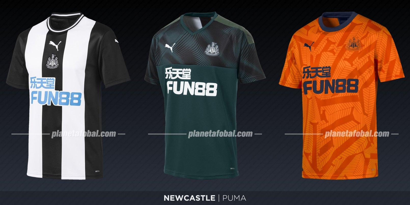 Newcastle (Puma) | Camisetas de la Premier League 2019-2020